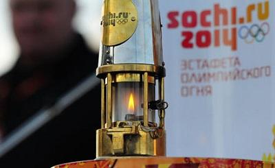 Огонь зимних Олимпийских игр в Сочи поднимут на гору Палласа.