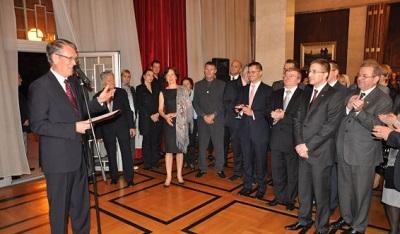 В  Посольстве РФ в Республике Сербии отпраздновали День народного единства