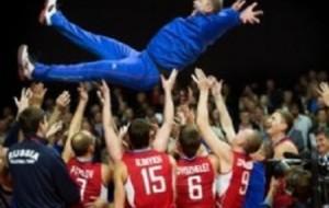 Наши волейболисты взяли европейское золото