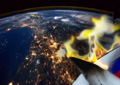 С Байконура в космос запустили олимпийский факел