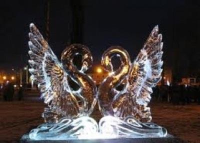 На Ямале открылся международный фестиваль ледовой скульптуры