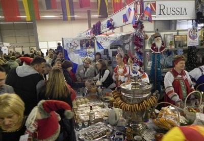 Посольство РФ в Сербии  на Международной рождественской благотворительной ярмарке