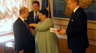 Императорский дом Романовых наградил правозащитника за вклад в сохранение русского языка и культуры в Латвии