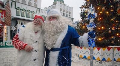 Российский Дед Мороз отправился в предновогоднее путешествие.