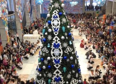 На Новогодней ёлке за праздники в Кремле  побывали около 200 тысяч детей