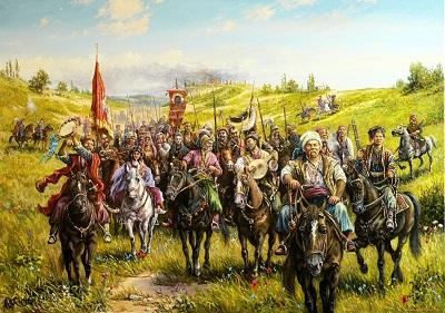 Выставка «Казаки на службе России».