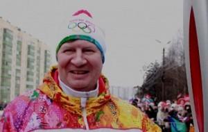 Куряне проводили олимпийский огонь