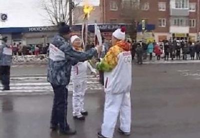 Олимпийский огонь сегодня прибыл в столицу Удмуртии — Ижевск.