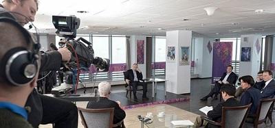 Владимир Путин дал интервью российским и иностранным СМИ