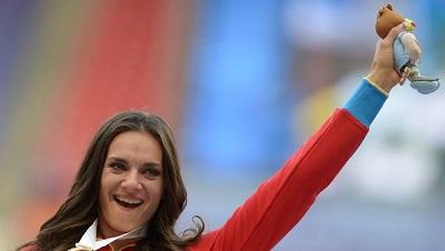Исинбаева стала лучшей спортсменкой года в Европе по версии AIPS