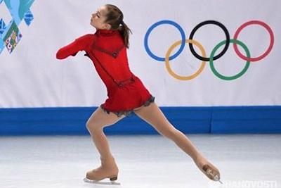 Юлия Липницкая стала самой юной чемпионкой зимних Олимпийских игр