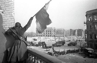 Волгоград отмечает годовщину победы под Сталинградом.