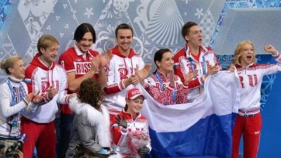 Фигуристы принесли России первое золото ОИ, выиграв командный турнир