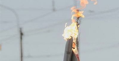 Огонь Паралимпийских игр в Сочи зажжен на мысе Дежнева