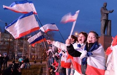 За вхождение Крыма в Россию высказались 96,77% участников референдума