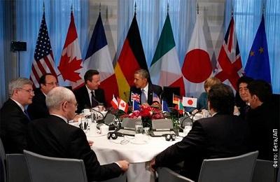 Страны «семерки» приостановили собственное участие в G8 и пригрозили России санкциями