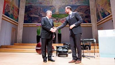 Российскому математику Синаю вручили престижную Абелевскую премию