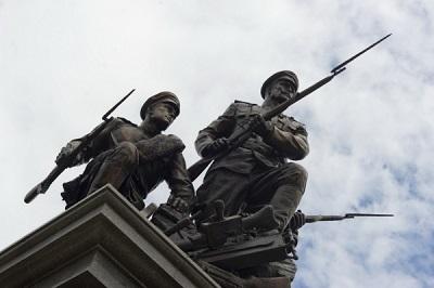 Открыт памятник героям Первой мировой войны в Калининграде