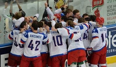 Хоккеисты сборной России выиграли чемпионат мира, победив в финале финнов.