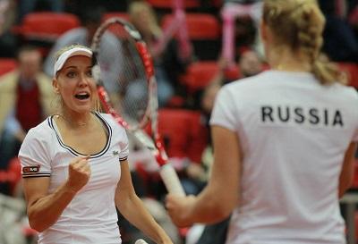 Теннисистки Макарова и Веснина вышли в финал US Open в парном разряде