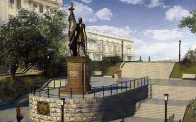 Памятник царю Николаю II прибыл в Белград