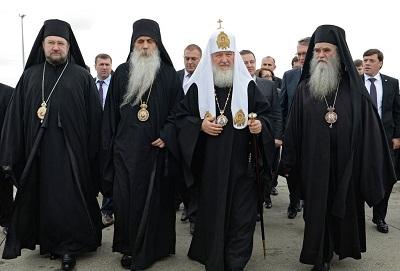 Патриархи Кирилл и Ириней провели совместное богослужение в Белграде