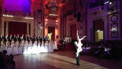 Московский бал прошел в Венском императорском дворце