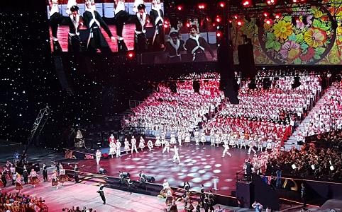 В Сочи проходят Всемирные хоровые игры.