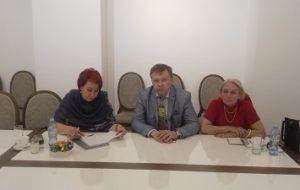 Рабочая встреча  представителя Посольства и КС.