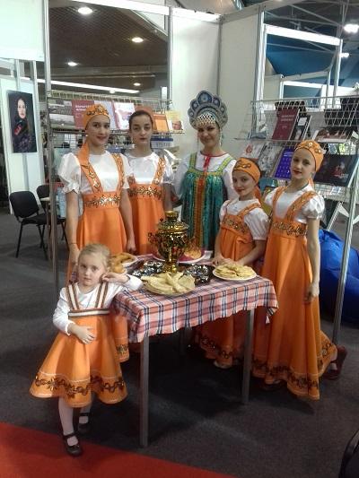 Посетители новисадской выставки познакомились с традициями Масленицы!