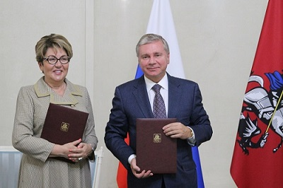 Московское Правительство и Россотрудничество подписали соглашение о взаимодействии