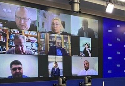 Лидеры соотечественного движения приняли участие в видеомосте по вопросам организации голосования за поправки к Конституции России