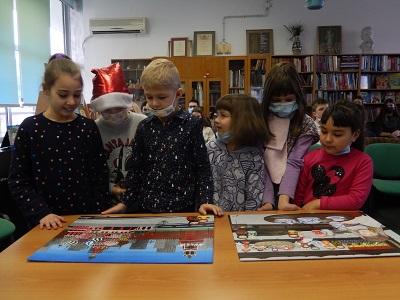 Заключительная встреча состоялась в детском  центре «Жар-птица».